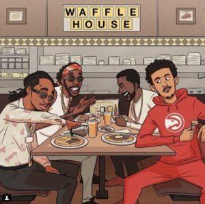трэй янг waffle house
