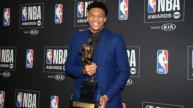 Яннис Адетокумбо МВП НБА 2019