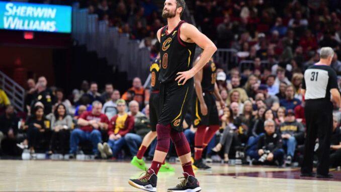 Кевин Лав Кливленд баскетболист